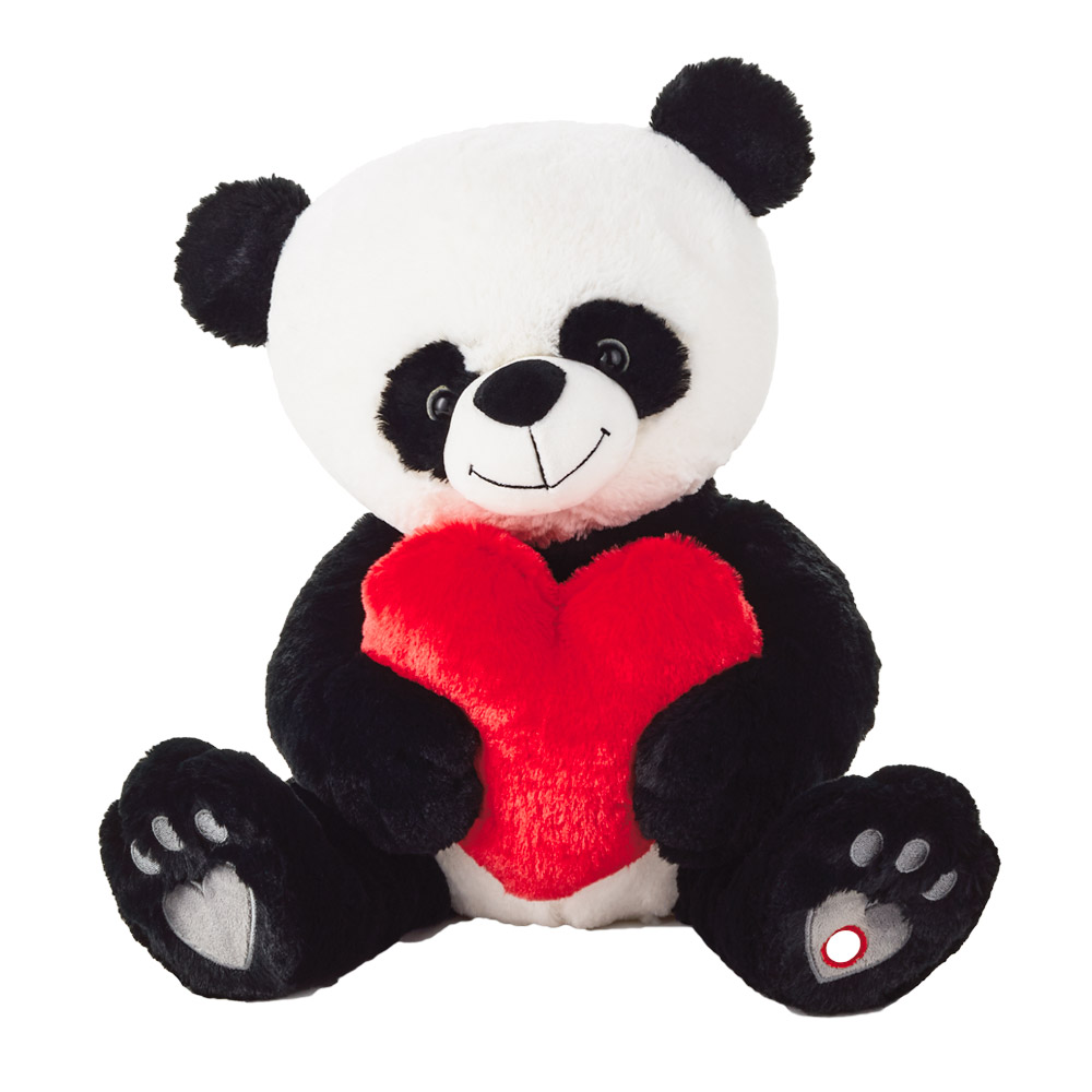 Bear Hugs Panda Cub Interactive Stuffed Animal
