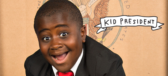 Find Kid President's message of positivity and awesomeness in these Hallmark gifts and cards.