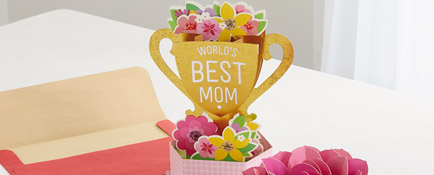 Make her Mother's Day special with the card just right for her.