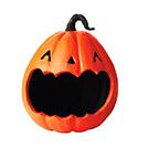 Jack-o'-Lantern Candy Holder