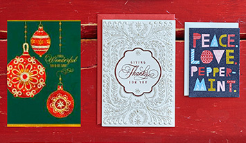 Find just the right Christmas card for everyone you love.