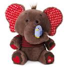 Singing elephant stuffed animal