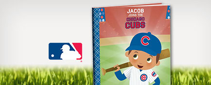 Chicago Cubs™ personalized book