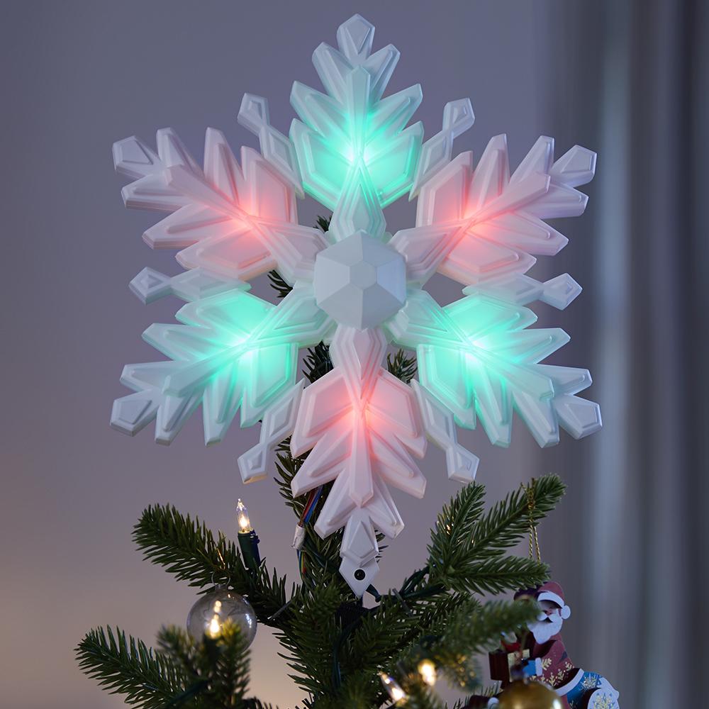 Stunning Snowflake Tree Topper