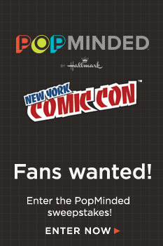 Enter the PopMinded sweepstakes for your chance at a trip to New York Comic Con.