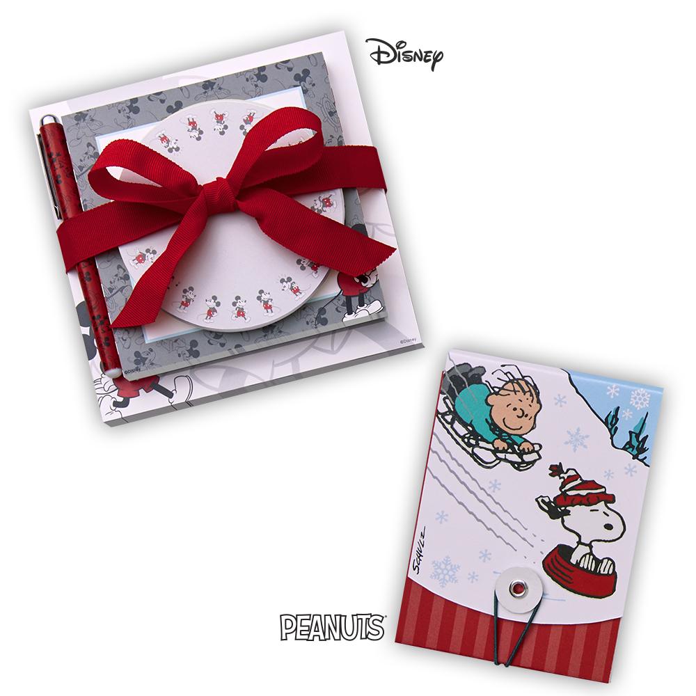 Hallmark Peanuts® and Disney Stationery