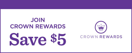 Save when you join Crown Rewards