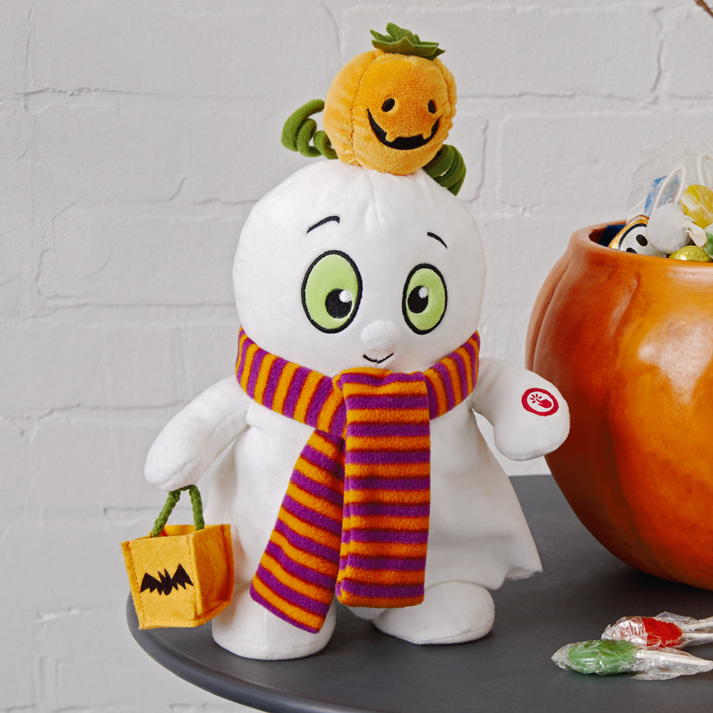 Musical Trick 'n' Treat Ghost Stuffed Animal With Motion