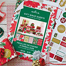 Holiday Wrapping Paper Pads