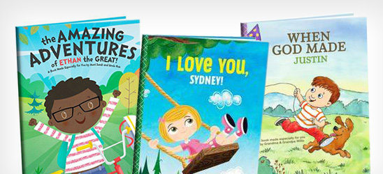 $10 off personalized books.