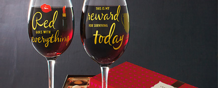 Signature Collection wine glasses