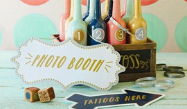 Hallmark Designer Em Bronson shares her ideas for fun wedding activities.