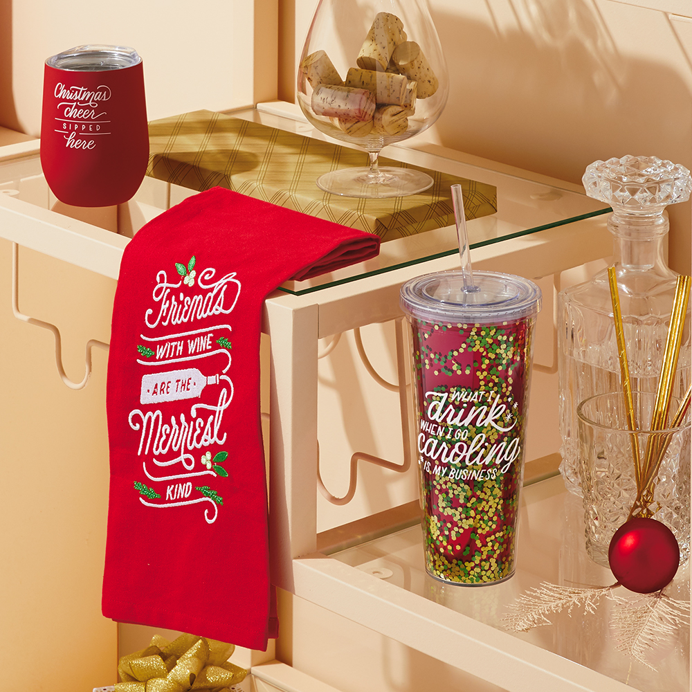 Hallmark Holiday Tabletop and Barware