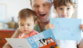Hallmarks writers provide tips and message ideas for Father's Day cards.