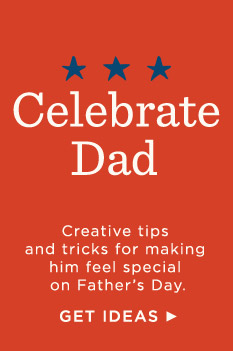 Creative tips and tricks for making him feel special.
