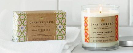Hallmark Crafters & Co. collection features maker-inspired gifts like candles, tea and chocolates.