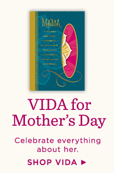 Shop VIDA cards for Mother's Day.