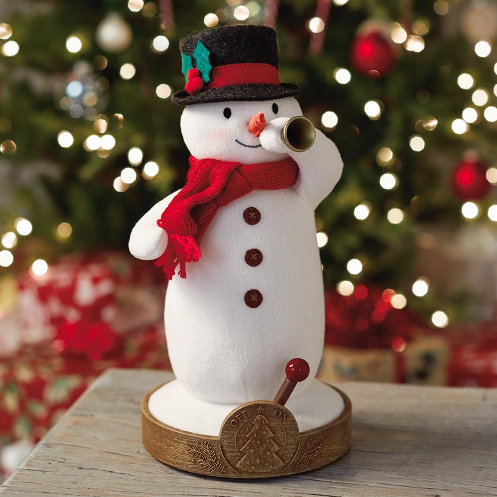 Musical Tree-Lighting Snowman