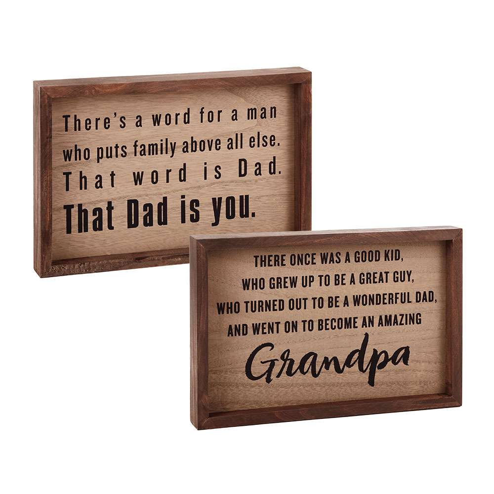 Wood Quote Sign