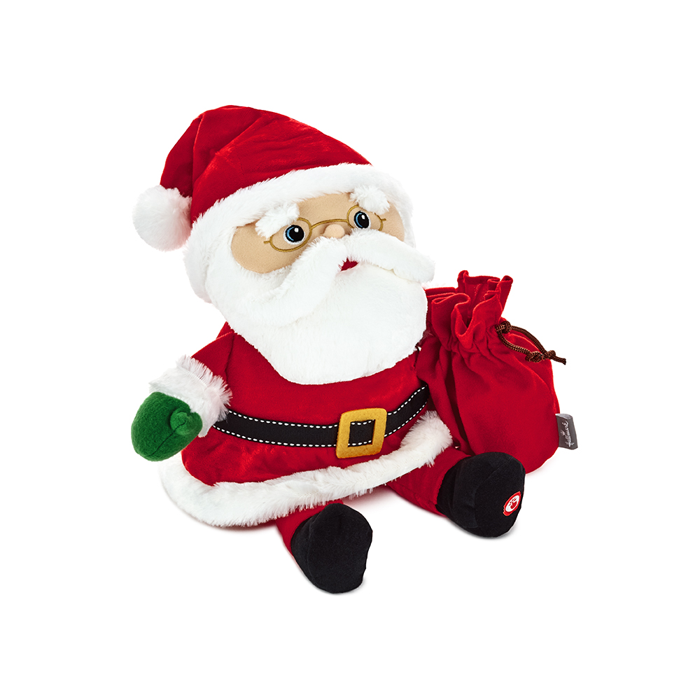 Interactive Santa Plush