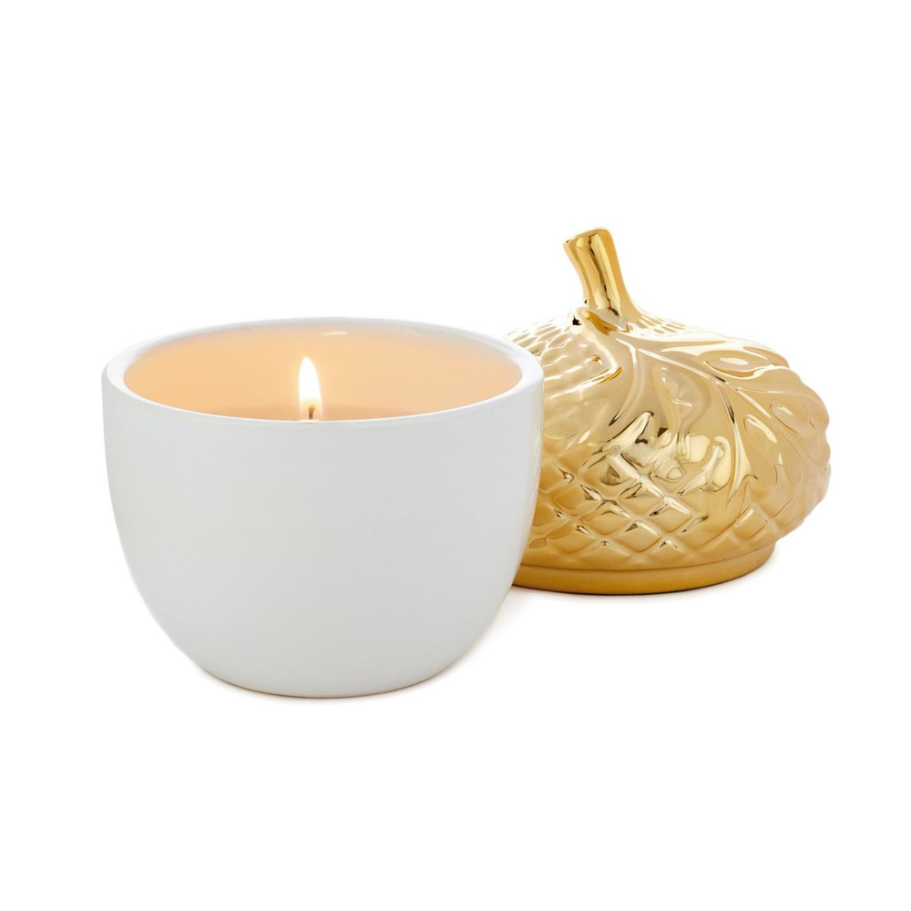 Fall Spiced Harvest Acorn Candle