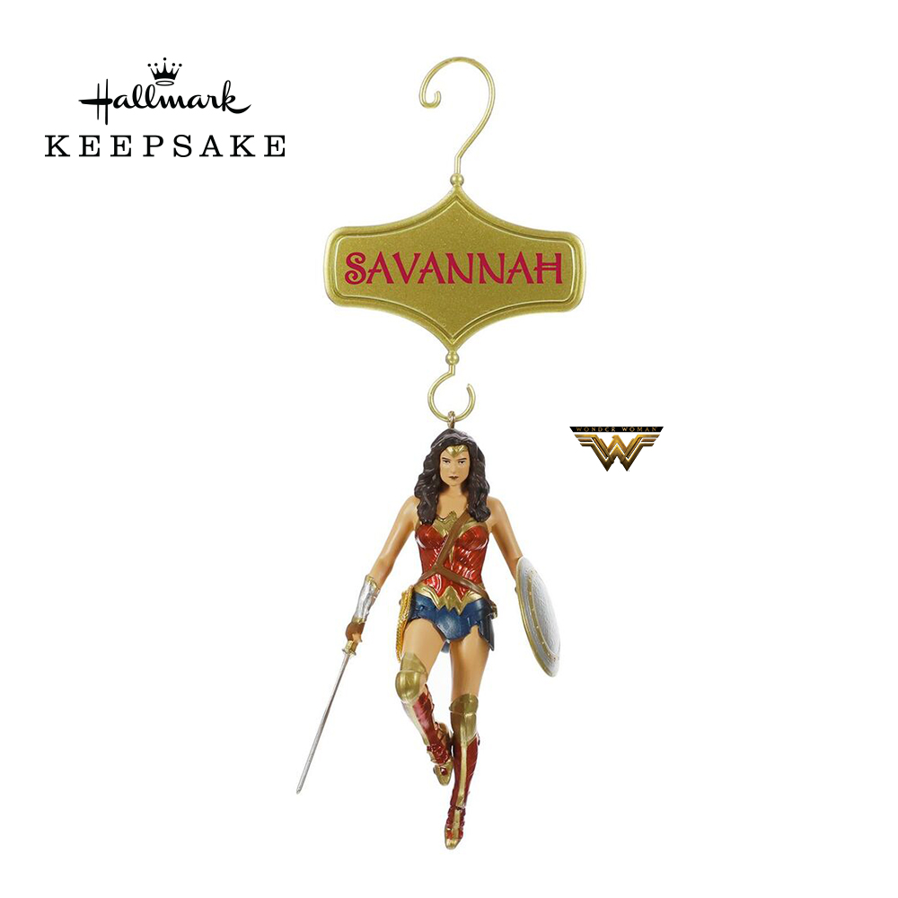 $5 off Wonder Woman™ Personalized Ornament