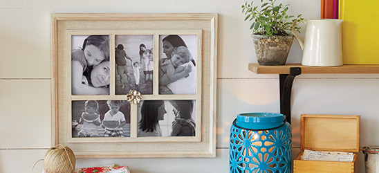 Find picture frames and photo collage frames at Hallmark.
