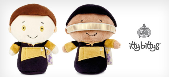 Online exclusives: Data™ and Geordi La Forge™