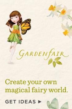 Create your own magical fairy world.