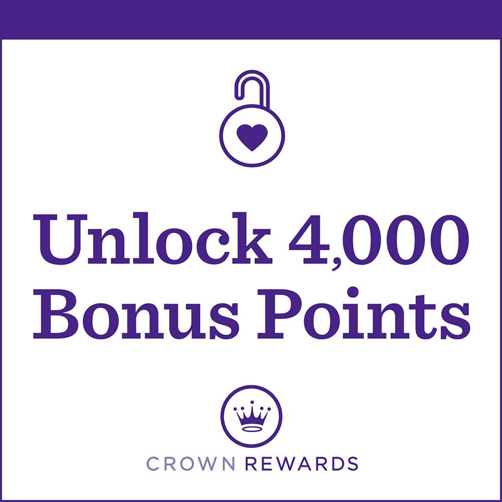 Unlock 4,000 Bonus Points