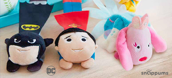 Hallmark Snappums™ are available in licensed characters and other fun creations.