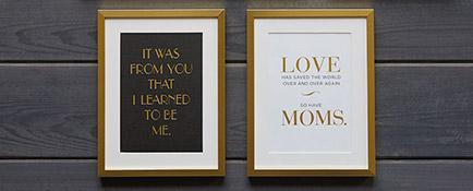 Stylish Statements framed wall art