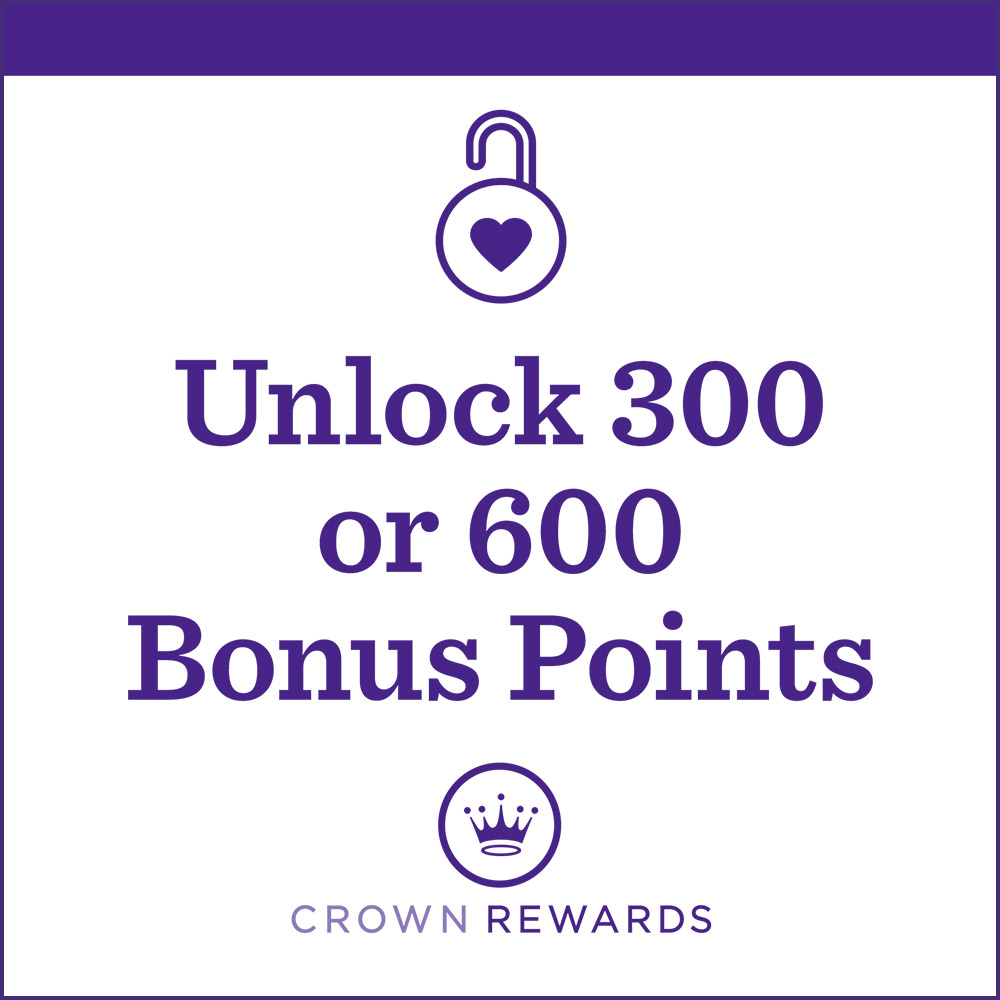 Unlock 300 or 600 Bonus Points with Hallmark cards