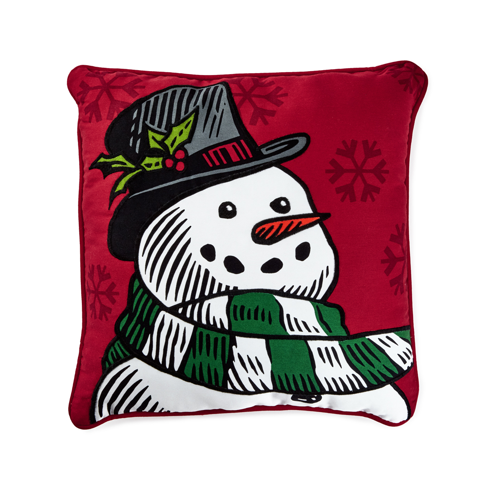 Save on Snowman Pillow
