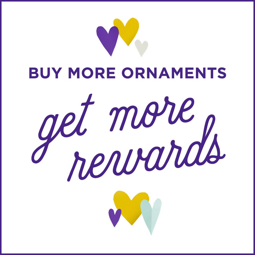 Buy more ornaments, get more rewards!
