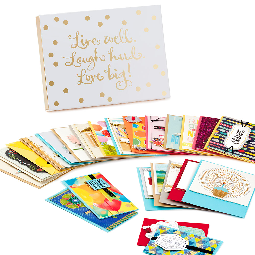 Boxed set of cards for all occasions