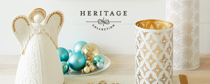 Shop exquisitely crafted products from the Heritage Collection