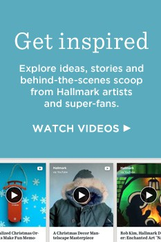 Hallmark ideas and videos