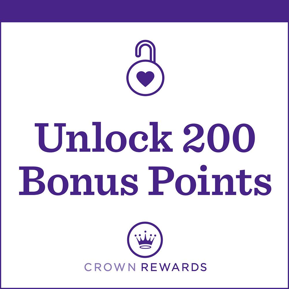 Unlock 200 Bonus Points