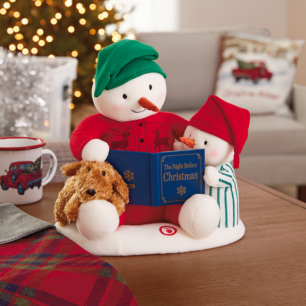 Storytime Snowman Musical Stuffed Animal