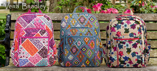 Vera Bradley bags and accessories.
