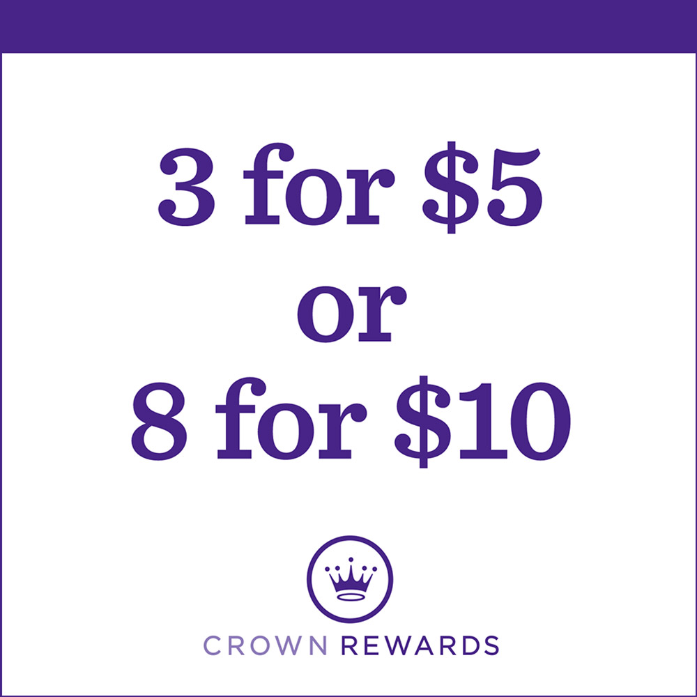 3 for $5 or 8 for $10