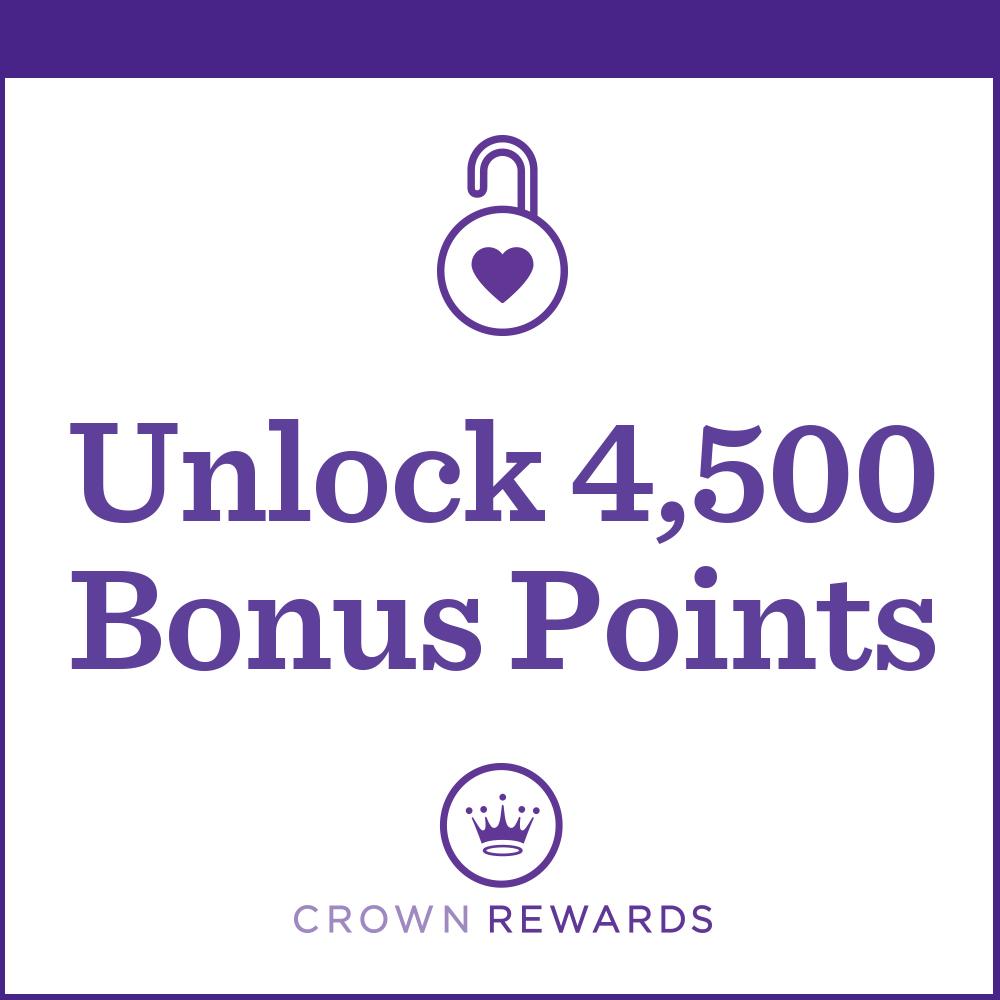 Unlock 4,500 Bonus Points