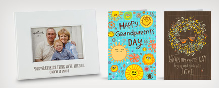 Honor your Grandma and Grandpa with gifts and cards from Hallmark.