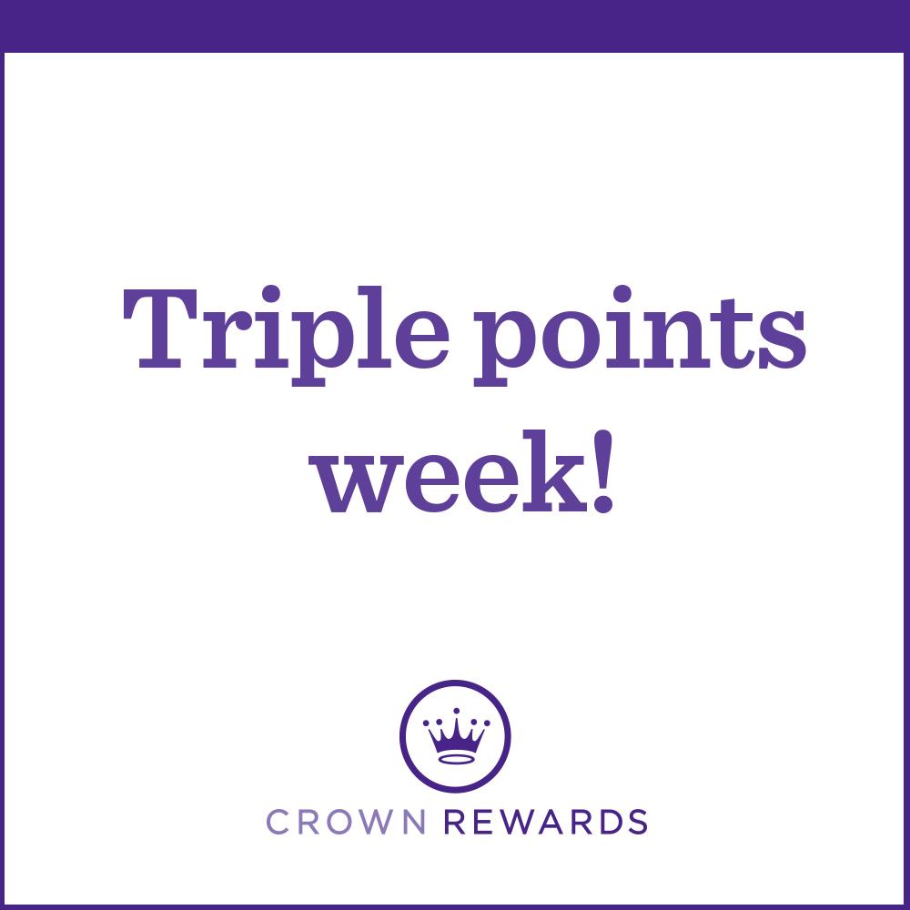 Triple your bonus points