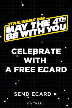 Star wars free ecard get a free star wars ecard and may the 4th be with you m4hsunfo