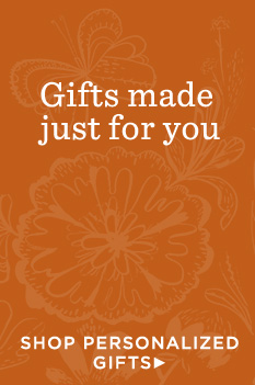 Personalization makes it easy to find just the right gift at Hallmark.