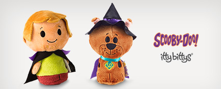 Shop Halloween itty bittys, including Scooby-Doo characters
