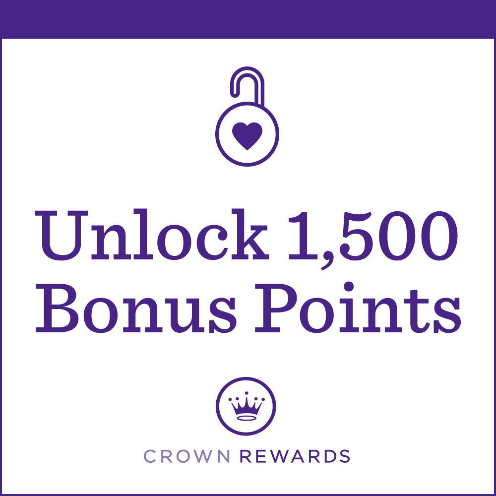 Unlock 1,500 Bonus Points