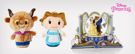 Belle and Beast itty bittys® and water globe